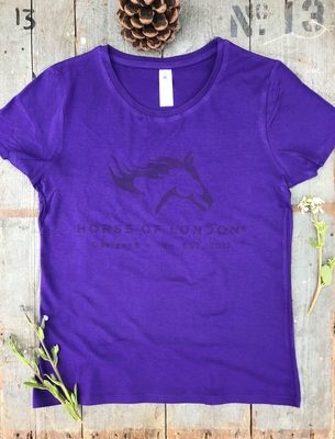 T–Shirt Purple - DEFECTIVE REDUCED