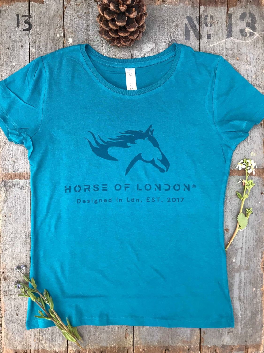 T–Shirt Turquoise - DEFECTIVE REDUCED