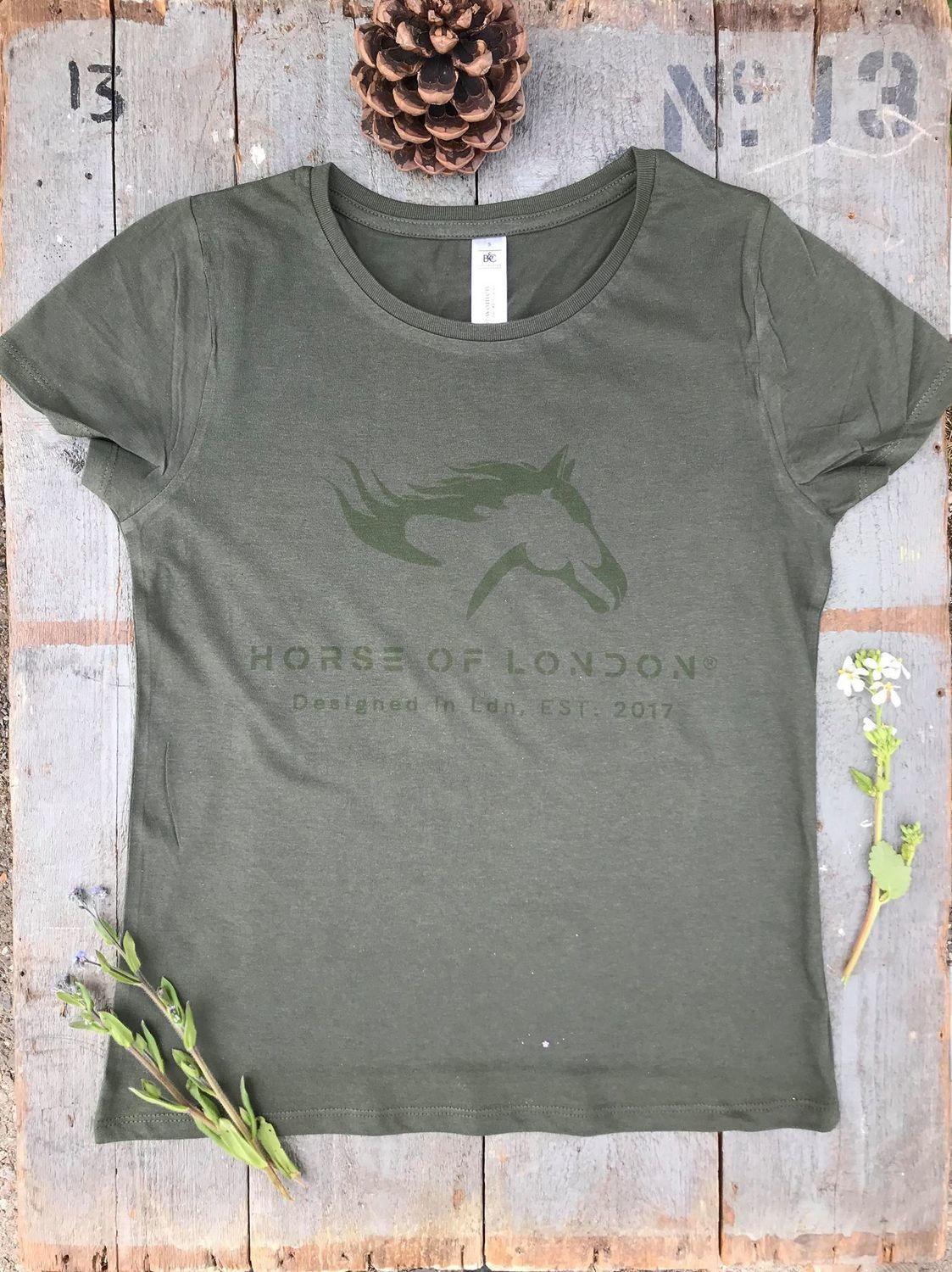 T–Shirt Army Green - DEFECTIVE REDUCED