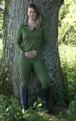 Soho Leggings - Pickle Green