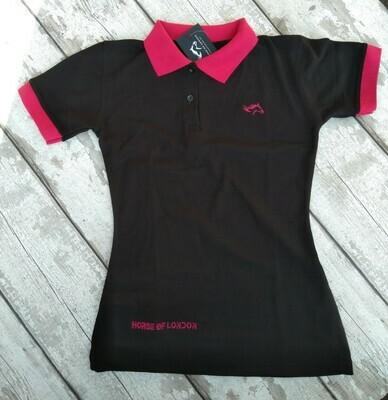Polo of London - Hot Pink & Black Shirt