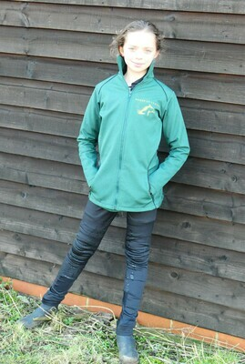 LONDON SOFTSHELL JACKET - PETROL GREEN