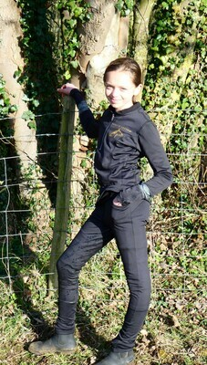 LONDON BREECHES - BLACK