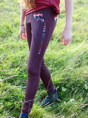 HOL Special Maroon Leggings