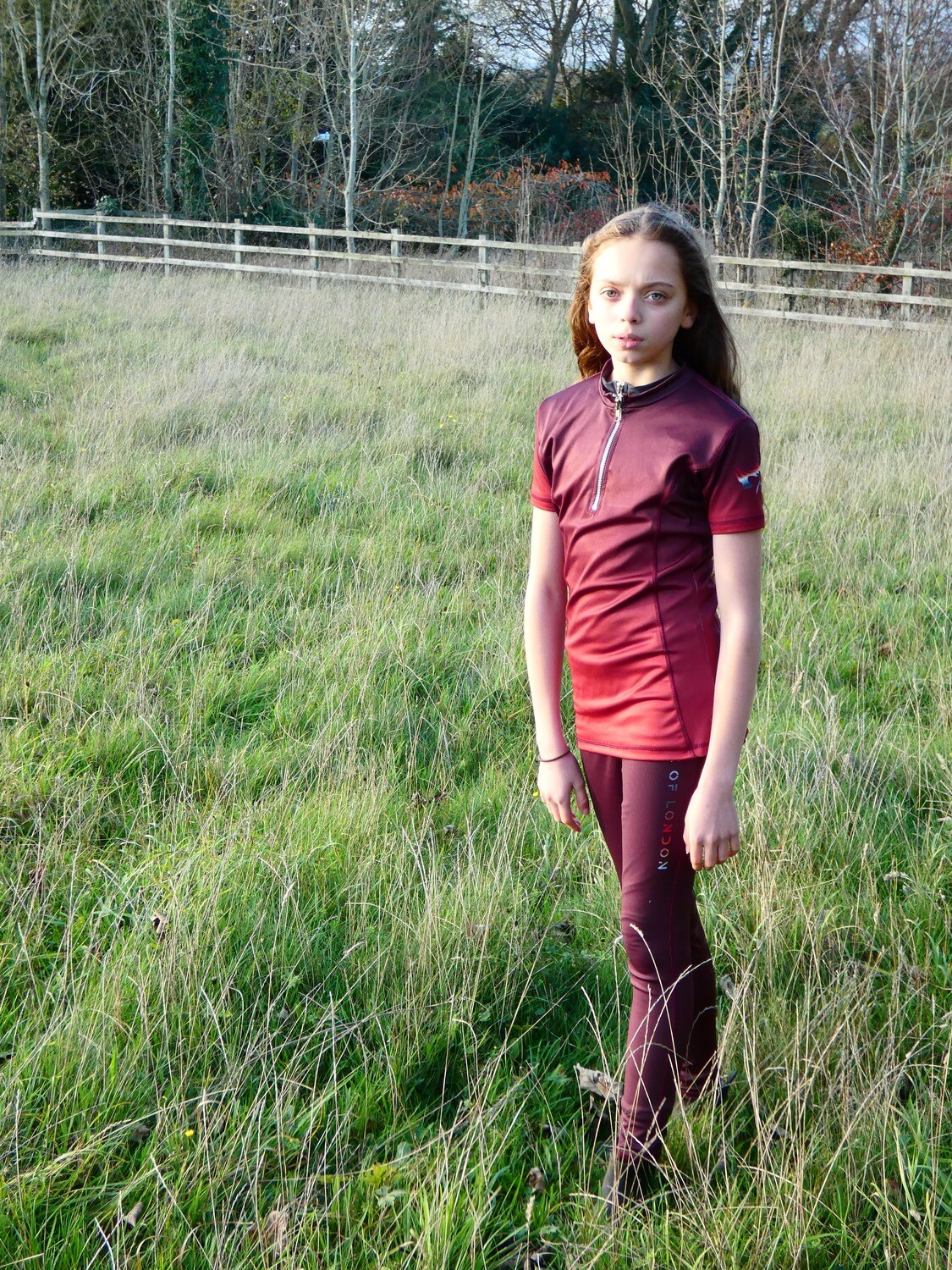 HOL Special Maroon Ombre Baselayer