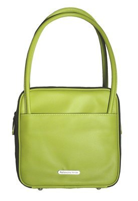 Palloncino Verde  Green Square Eco-Leather Handbag
