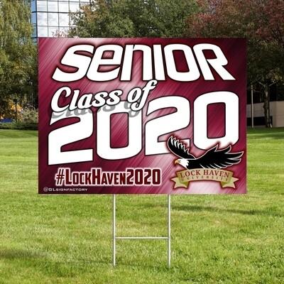 Lock Haven Senior 2020