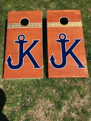 Simple Custom Cornhole