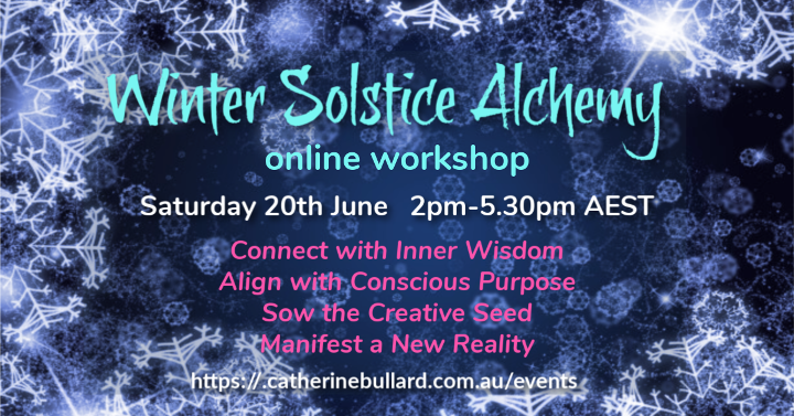 WINTER SOLSTICE ALCHEMY WORKSHOP