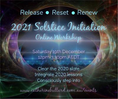 2021 Solstice Initiation Workshop - online