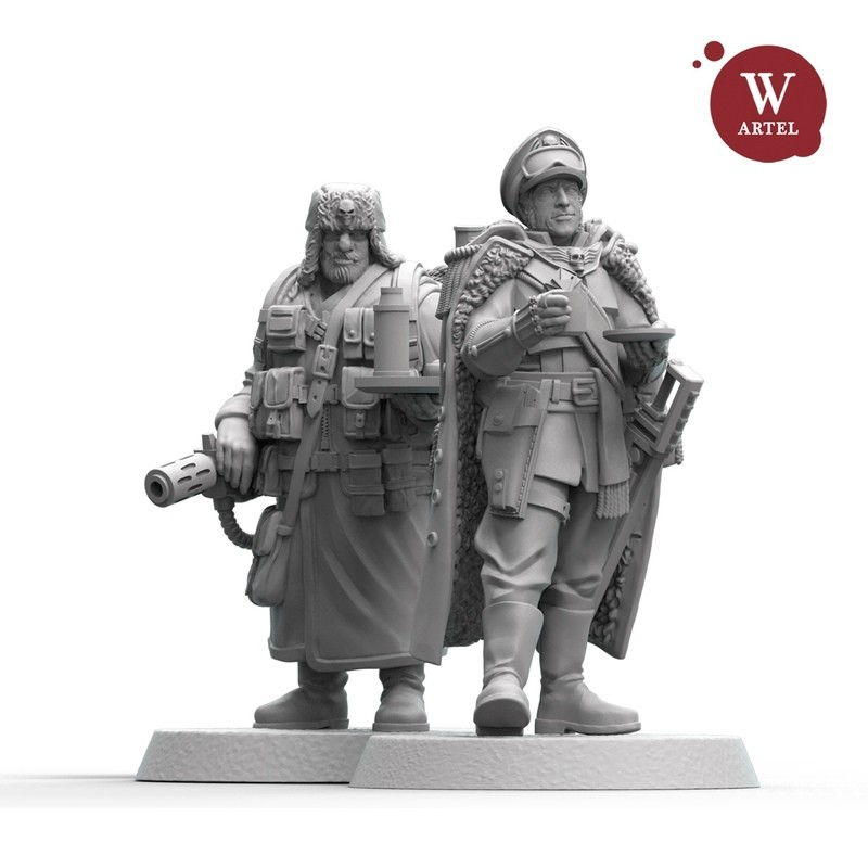 Loyalty Bundle: Heroic Commissar 2.0 and his Aide