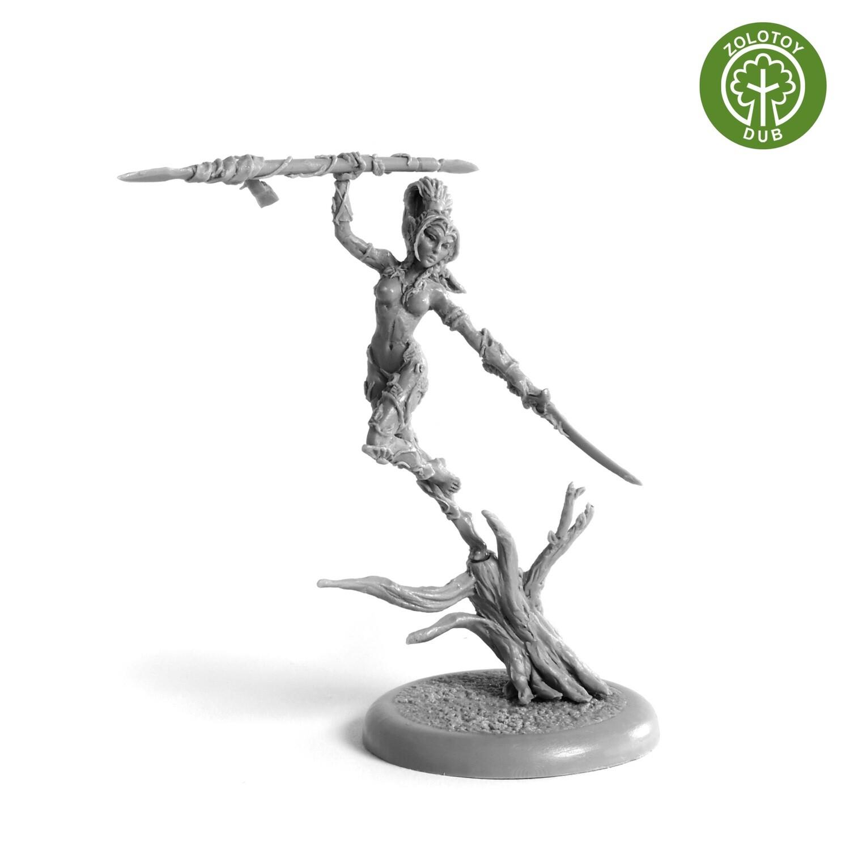 Elven Bladedancer - by Zolotoy Dub-