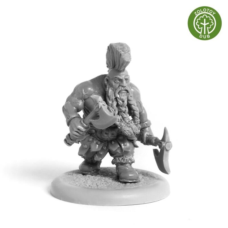 Dwarf Trollbane - by Zolotoy Dub -