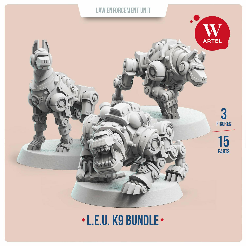 L.E.U. - K9 Bundle