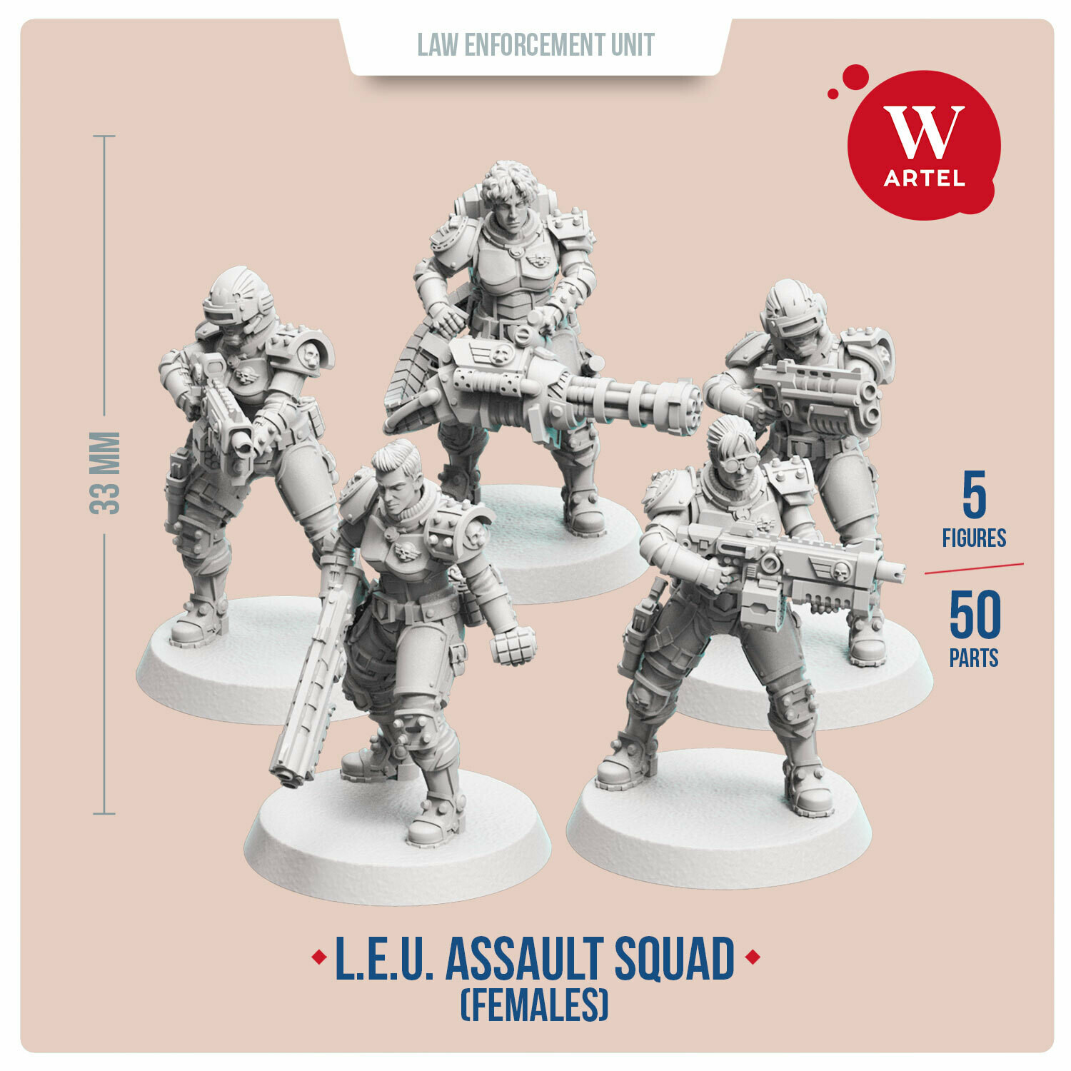 L.E.U. - Assault Squad (Female Enforcers)