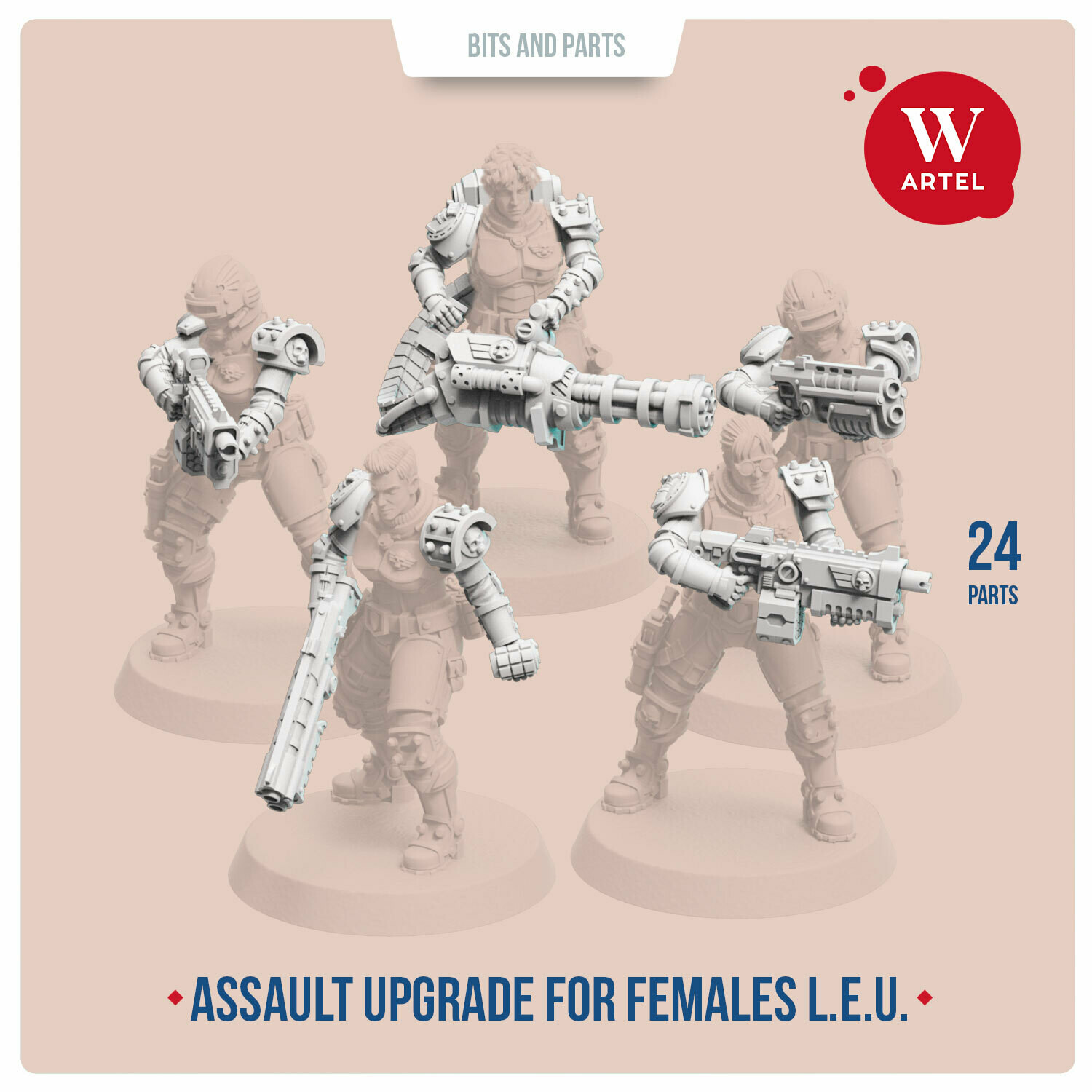 Assault Upgrade Pack for Female Enforcers