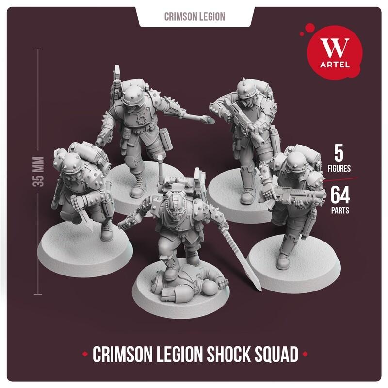 Crimson Legion Shock Squad