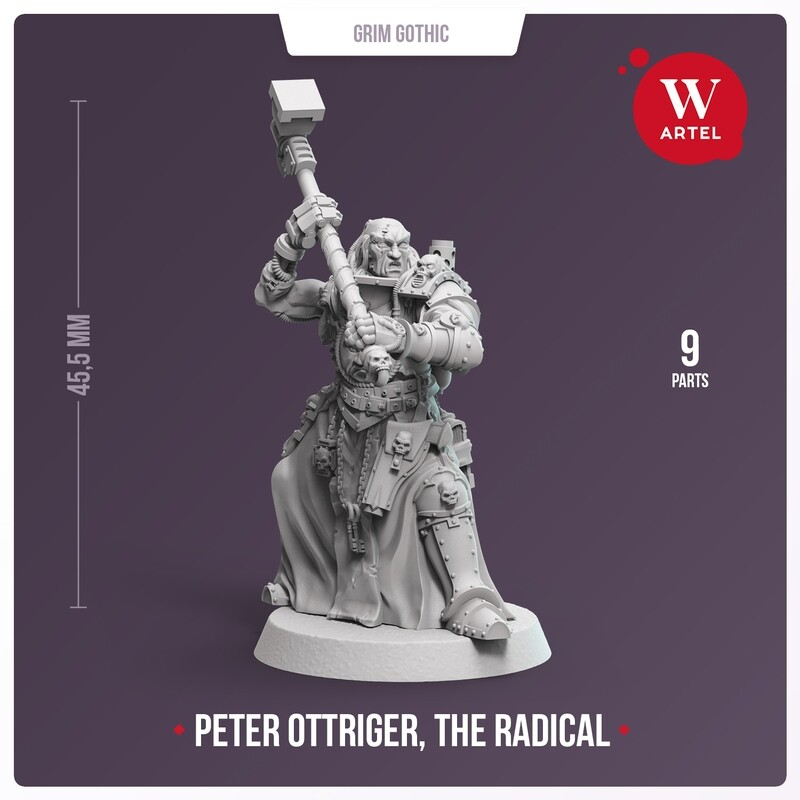Peter Ottriger, The Radical