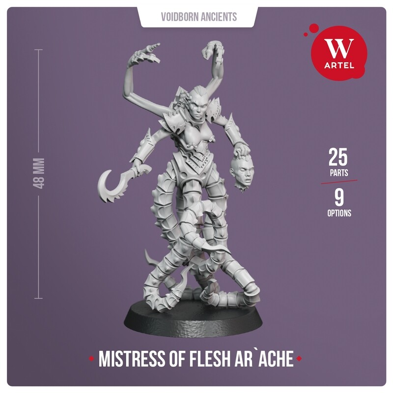Ar`ache, Mistress of Flesh