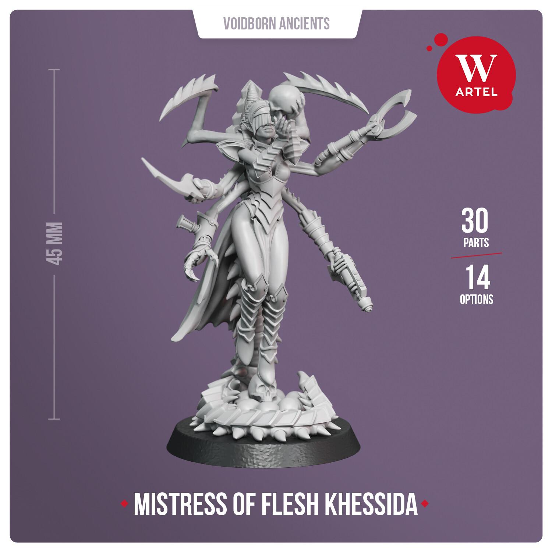 Khessida, Mistress of Flesh