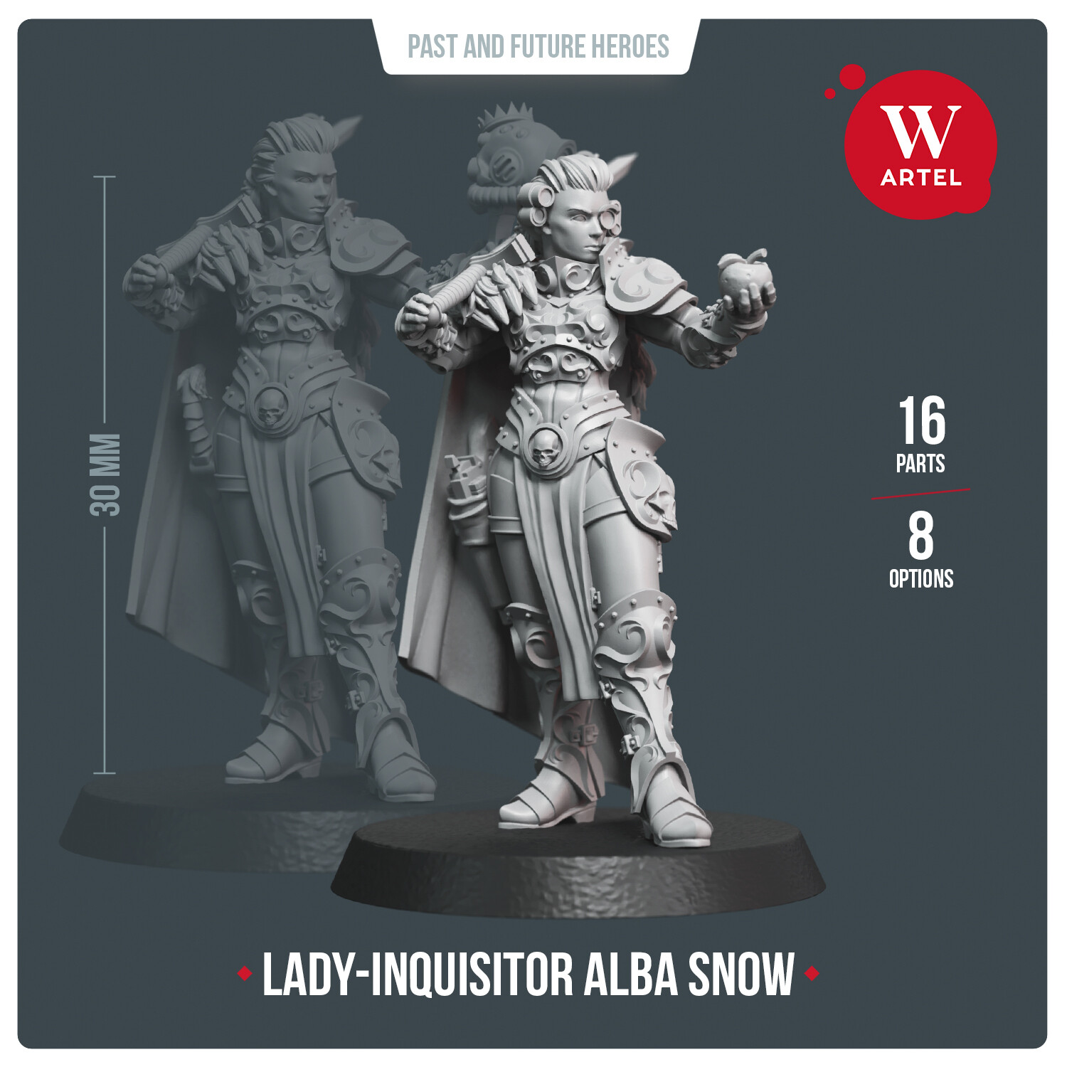 Lady-Inquisitor Alba Snow