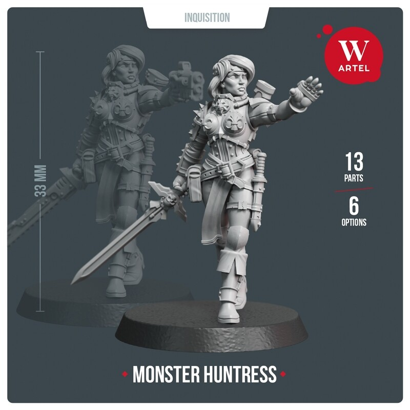 Monster Huntress