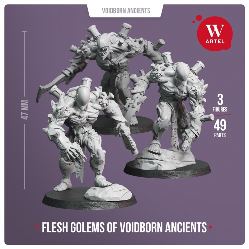 Flesh Golems of Voidborn Ancients