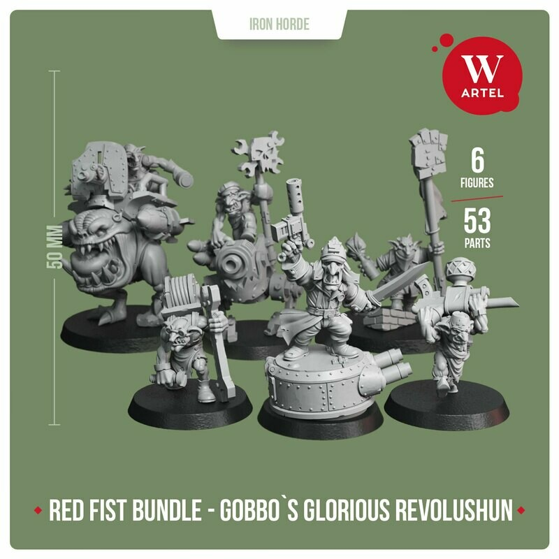 Red Fist Bundle - Gobbo`s Glorious Revolushun