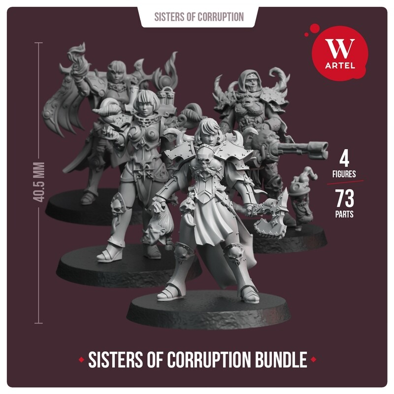 Sisters of Corruption Bundle