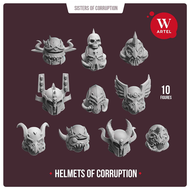Helmets of Corruption