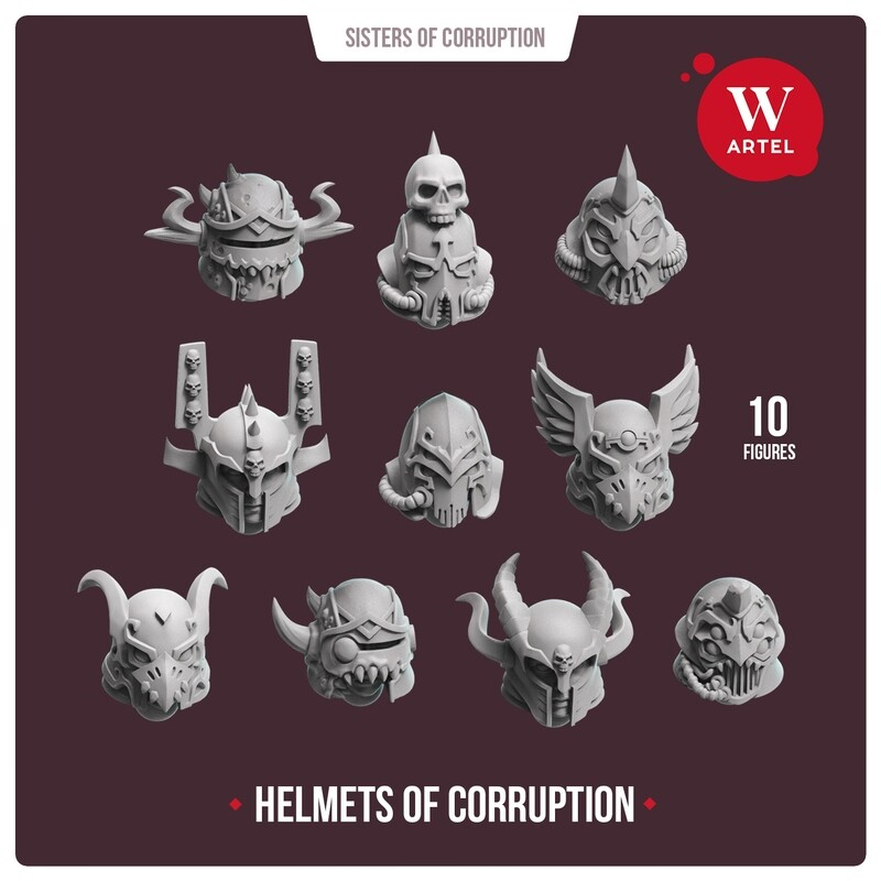 Helmets of Corruption