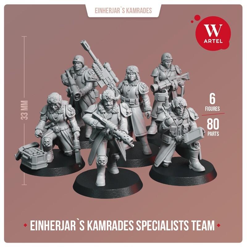 Einherjar`s Kamrades Specialists Team