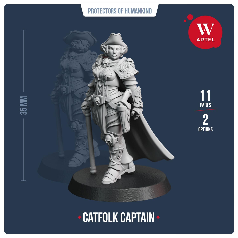 Catfolk Captain