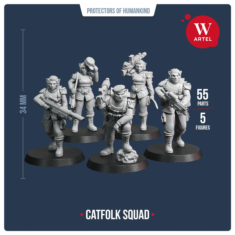 Catfolk Squad