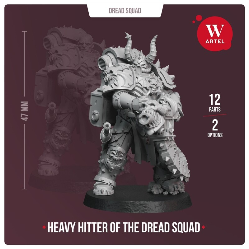 Heavy Hitter of the Dread Squad