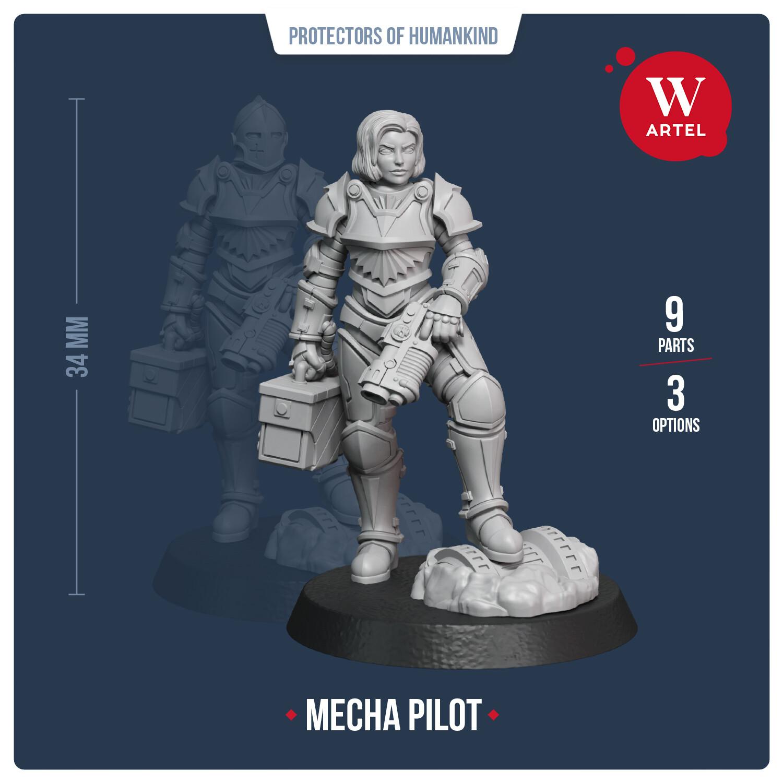 Mecha Pilot