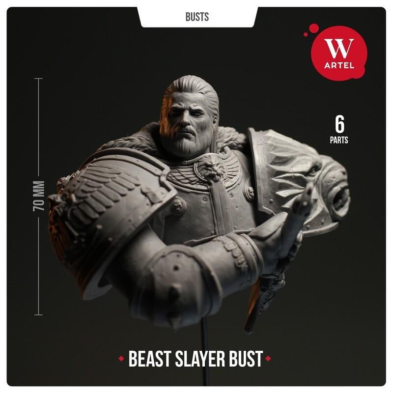 Beast Slayer Bust