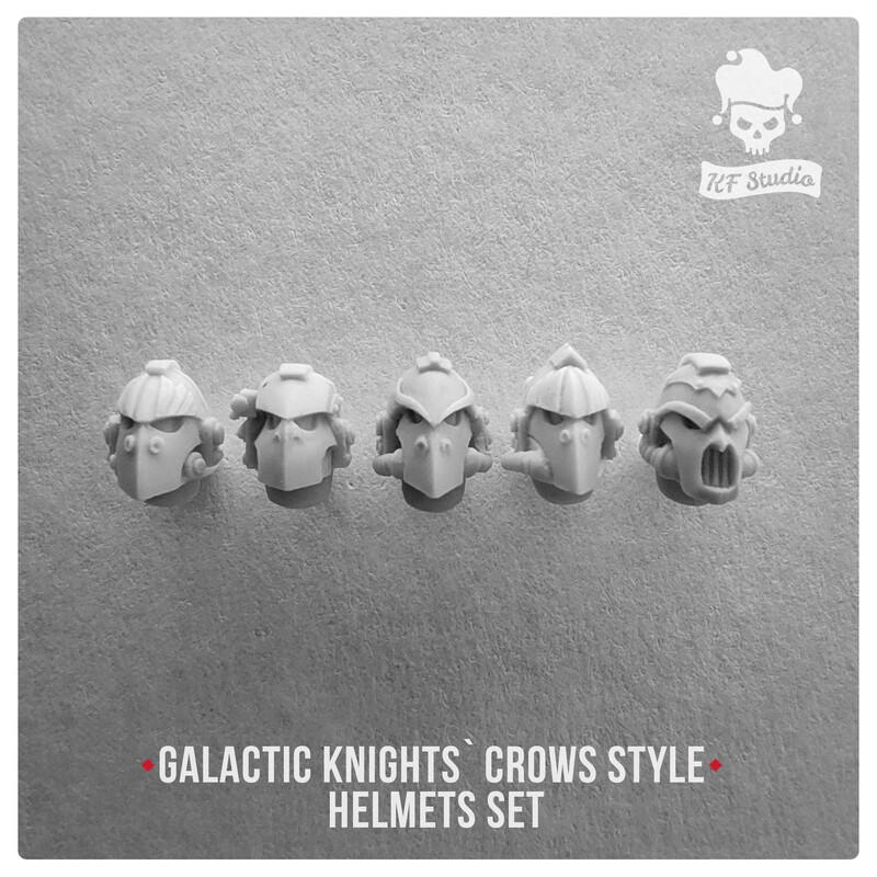 Galactic Knights Crow Style Helmets by KFStudio