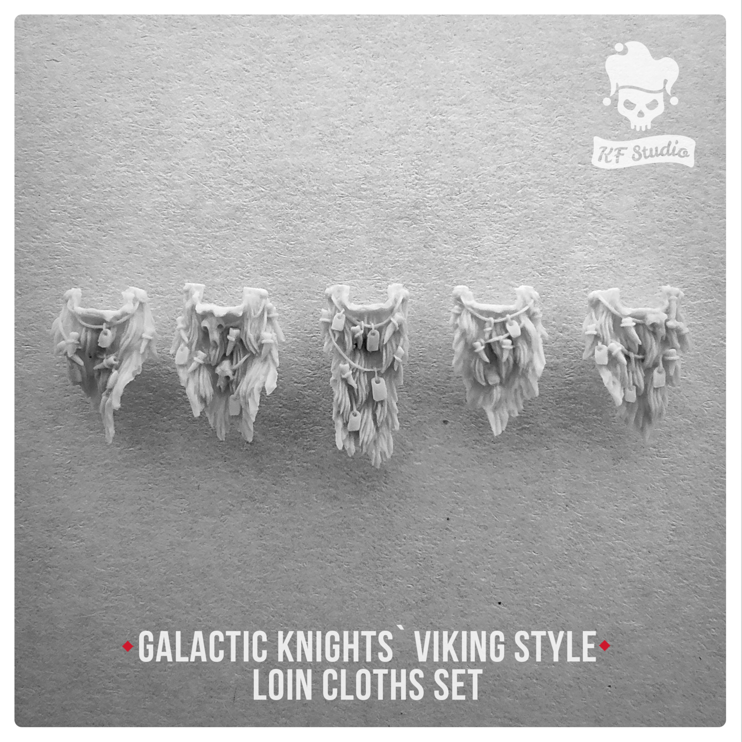 Galactic Knights Viking Style Loin cloths by KFStudio