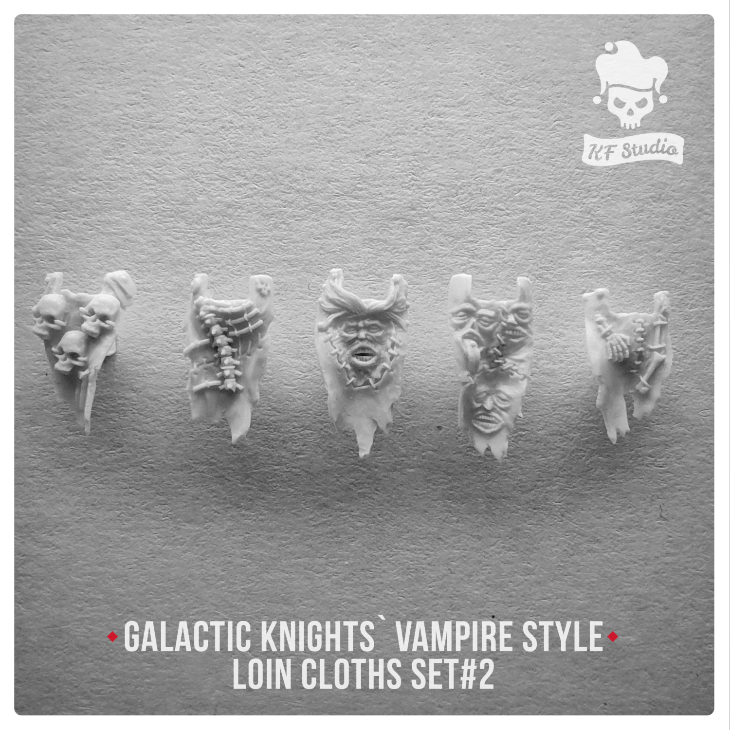 Galactic Knights Vampire Style loin cloths Set#2 by KFStudio