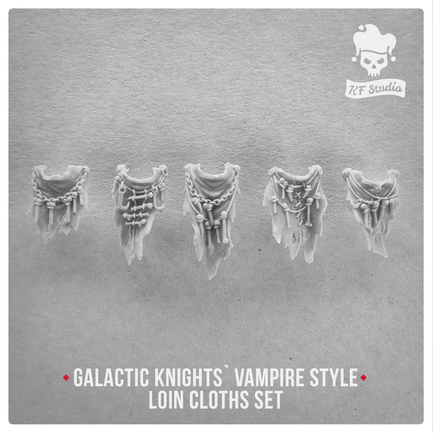 Galactic Knights Vampire Style Loin cloths by KFStudio