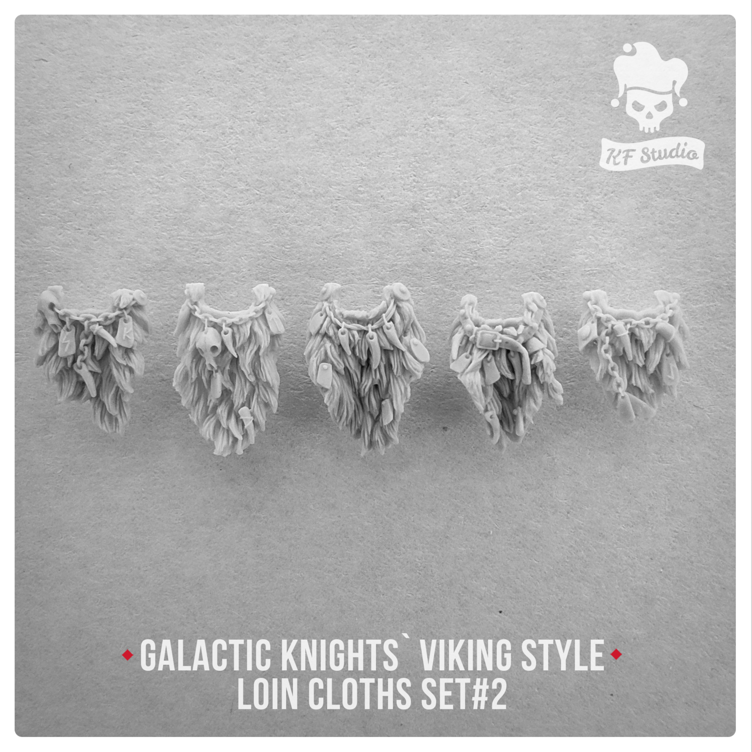Galactic Knights Viking Style Loin cloths Set#2 by KFStudio