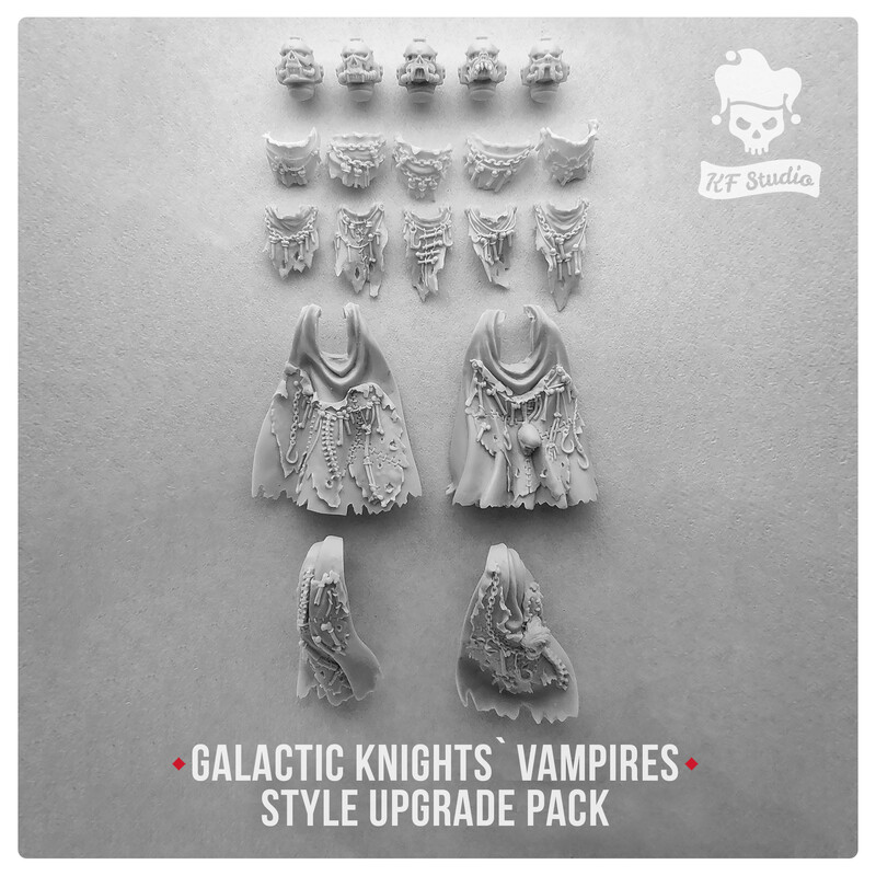 Galactic Knights Vampire Style Upgrade Set#1 by KFStudio