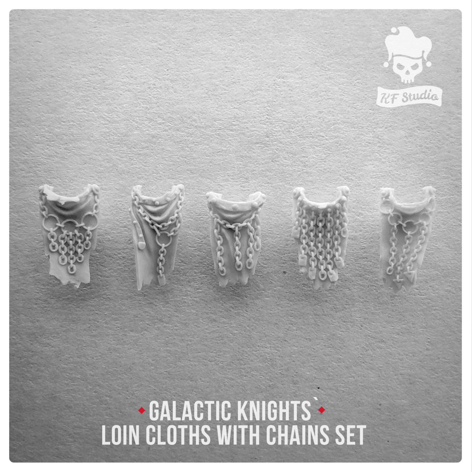 Galactic Knights Loin cloths with chains by KFStudio