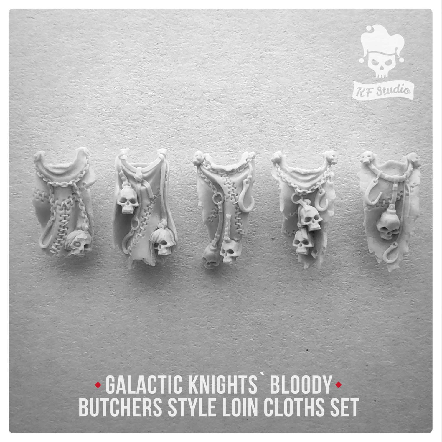 Galactic Knights Bloody Butcher Style Loin cloths by KFStudio