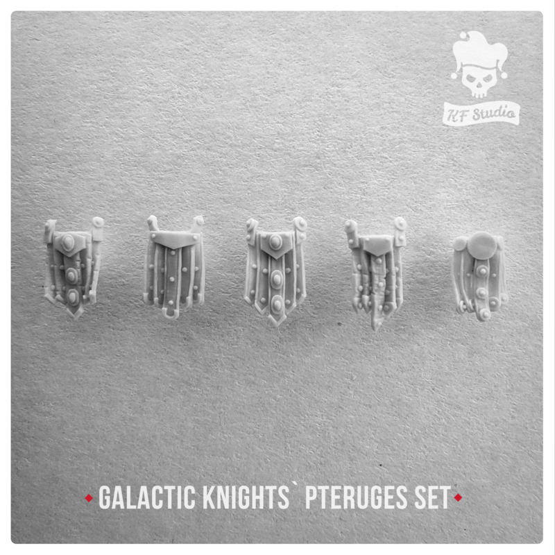 Galactic Knights Pteruges by KFStudio