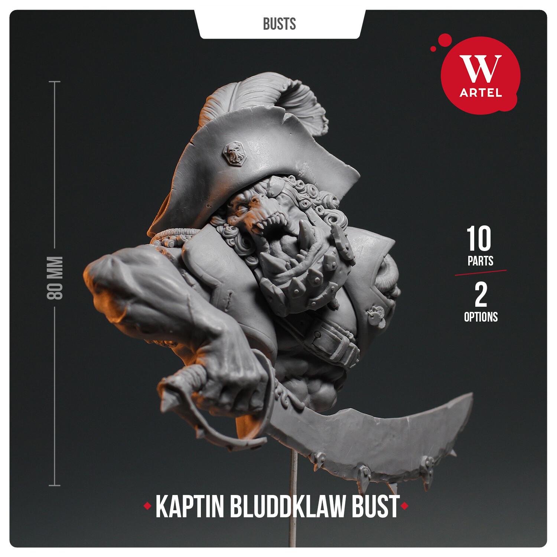 Kaptin Bluddklaw Bust