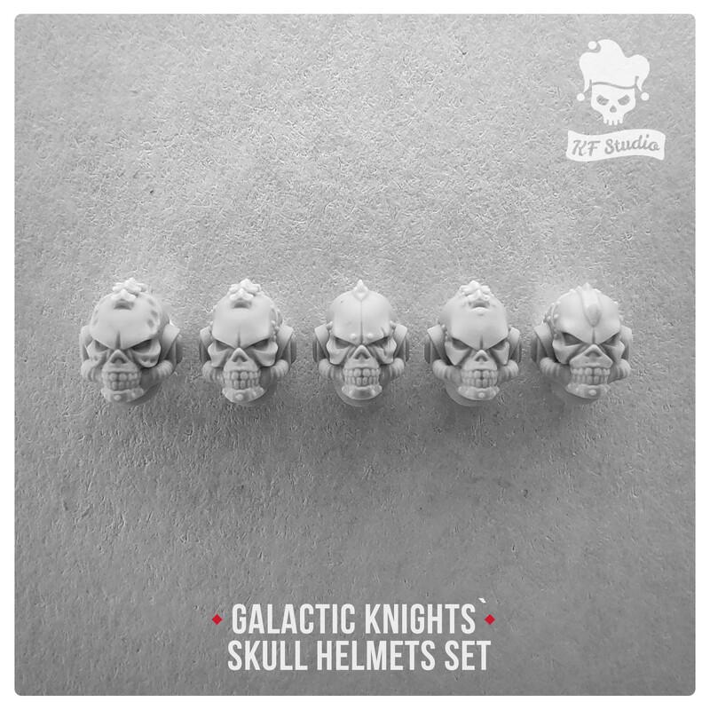 Galactic Knights Skull Helmets by KFStudio