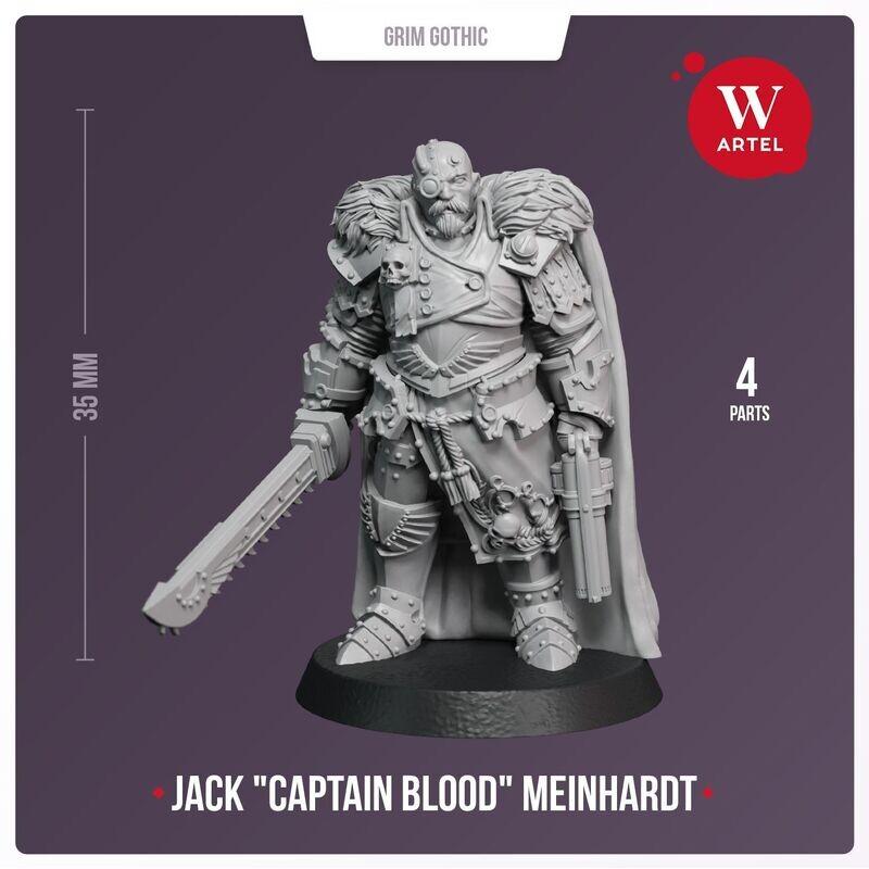 "Jack ""Captain Blood"" Meinhardt"