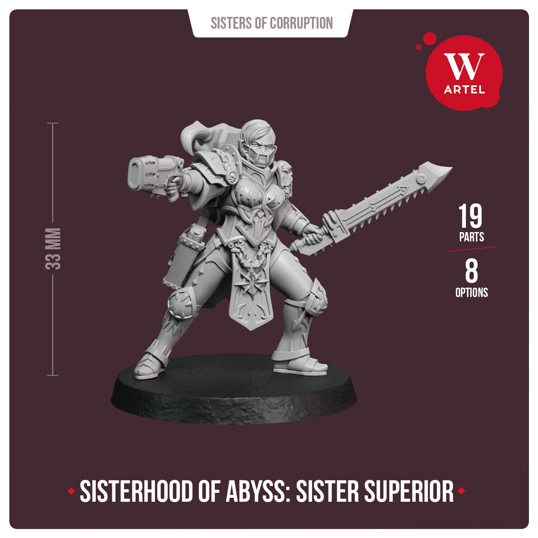 Sisterhood of Abyss: Sister Superior
